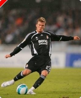 David BeckhamがWSOPEのシートを贈られた!?