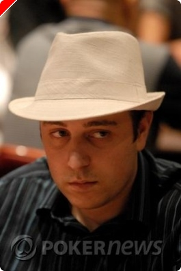 Tournoi de poker WPT Bellagio 2008 - Day 2 - Nicolas Levi, chapeau!