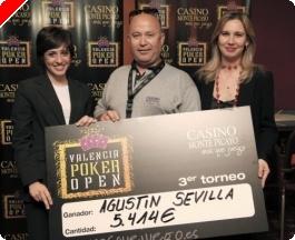 Agustín Sevilla arrolla en el III Valencia Poker Open