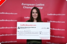 Liv Boeree is the Ladbrokes Poker European Ladies Champion