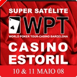 Super Satélite WPT Barcelona – Casino Estoril 10 e 11 Maio