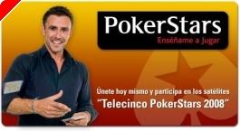 Pokerstars presenta póquer en televisión en España