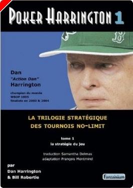 "Livre de poker - ""Poker Harrington 1"" de François Montmirel"