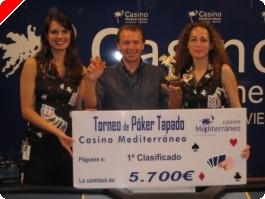 Gabino Rebelles gana el mensual de cubierto de Villajoyosa