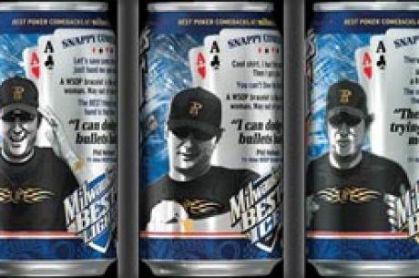 ¡Phil Hellmuth aparecerá en las latas de cerveza!