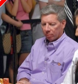 Journal wsop 2008 -  31 mai : David Benyamine rate une marche