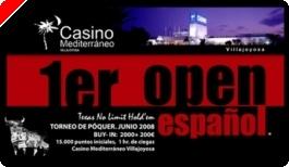 Presentada la estructura del Open Español de Poker