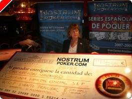 Chelo Navarro se lleva el anual de las series españolas de póquer