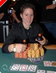 Gratulerer til Vanessa Selbst, vinner av Event #19 $1,500 Pot Limit Omaha i WSOP 2008