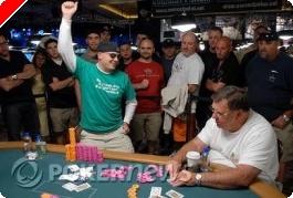 WSOP 2008 Tournoi 47 :  Ryan Hughes remporte son second bracelet dans le 1.500$ Seven Card Stud...