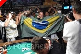 WSOP 2008 Tournoi 48 :  Le Rio danse la samba avec le brésilien Alexandre Gomes dans le 2.000$...