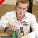 Dag Martin Mikkelsen under dag 2B av main event WSOP 2008