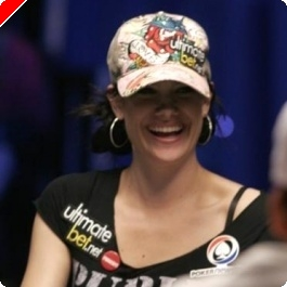 WSOP 2008 Main Event Day 6: Tiffany Michelle last Woman standing