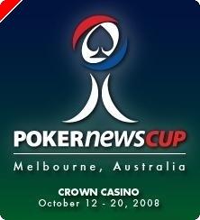 Cinq Freerolls 5.000$ pour la PokerNews Cup Australia 2008 sur Carbon Poker