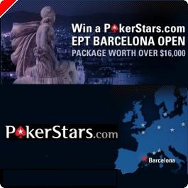 Ganhe Pacote para EPT Barcelona