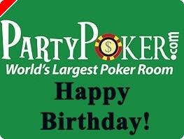 Party Poker Celebra Aniversário
