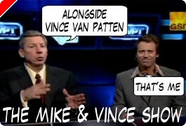 World Poker Tour Comic - De Mike & Vince Show!