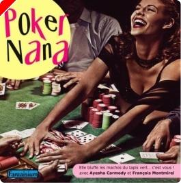 """Livre Poker - """"Poker Nana"""" d'Ayesha Carmody et François Montmirel"""