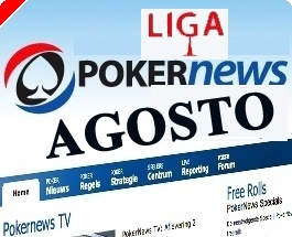 Liga PT.PokerNews Terça-feira 26 Agosto Último Torneio de Agosto