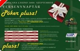 Tropicana Casino 2008.szeptemberi versenynaptára