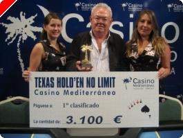 Cayetano García se lleva el último torneo de Agosto en villajoyosa