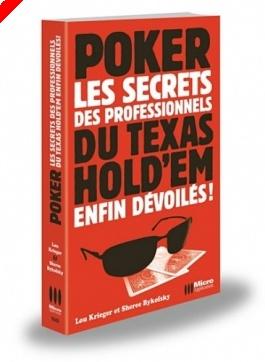 """Livre Poker - """"Poker, les secrets des professionnels de Texas Hold'em enfin..."""
