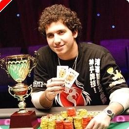PokerStars APPT Macau Main Event Mesa Final: Qualificado Online Sabat Agarra o Titulo
