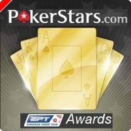 PokerStars EPT Awards: 'Jogador do Ano' Anunciados os Nomeados