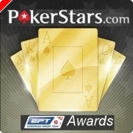 PokerStarsがEPTプレイヤーオブザイヤー候補者を発表