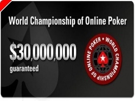 WCOOP Event # 5: $10,000 High-Rollers Event + Grote online toernooien afgelopen weekeinde