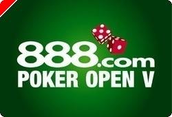 Hoje, Quinta-feira 18 Setembro - Represente Portugal no 888 Poker Open V – Por Apenas $1!