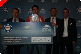 Javier Martínez gana el SPT de Castellón
