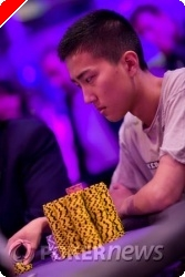 Klart for finalebord i event #1 av WSOPE 2008.