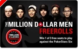 """Jouez votre finale du Main Event avec le """"Million Dollar Men"""" sur PokerStars"""