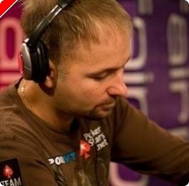 WSOPE 2008 Main Event, £10,000 NLHE Den 1b: Daniel Negreanu vede