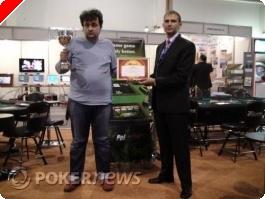 Бончо Кръстев победител в Techno Poker Club Challenge PokerPro...