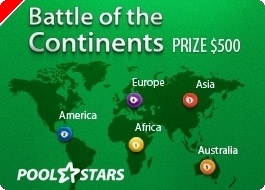 Billard online - PoolStars lance le Battle of the Continents