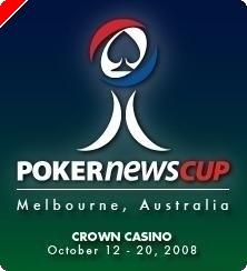 Täna algas Melbournes PokerNews Cup Australia 2008