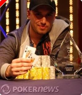 PokerNews Cup, Събитие 1: Harry Ligos Триумфира