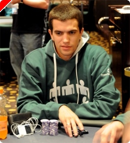 André Andrade na FT do Event#5 PokerNews Cup