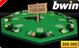 Битка на Форумите в Bwin Poker