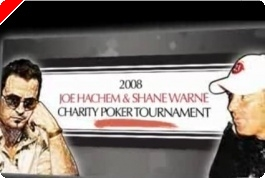 Anunciado Joe Hachem & Shane Warne Charity Poker Tournament
