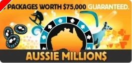 $75,000 в пакети за Aussie Millions от Betfair