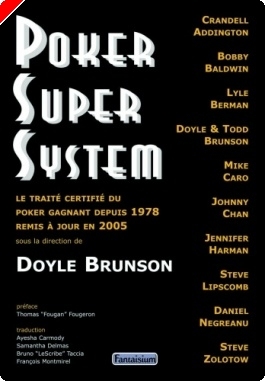 "Livre Poker - ""Poker Super System"" de Doyle Brunson & Co"