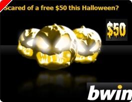"""$50 Grátis na Bwin no Dia das Bruxas """"Halloween"""""""