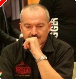 European Poker Tour Budapest 2008 - Table finale : Zoltan Toth chip leader hongrois
