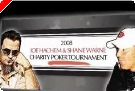 Joe Hachem과 Shane Warne가 포커 이벤트를 주최