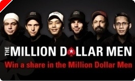 Vinn en del av premiepengene til PokerStars 'Million dollar men'