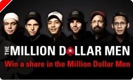 PokerStarsi miljoni dollari meeste kampaania 100 parimale rahalised auhinnad