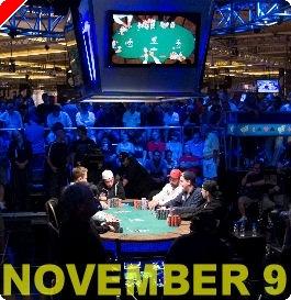 November 9 - WSOP 2008 finaletafel